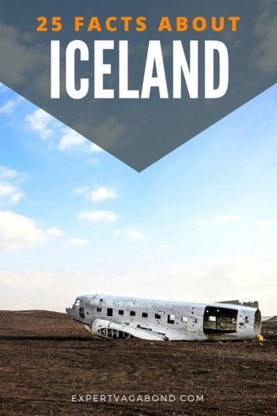 25 fatos interessantes sobre a Islândia! Impressionar seus amigos em festas com estes fatos divertidos Islândia.