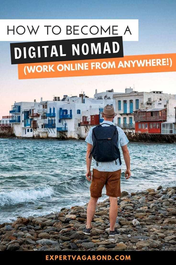 How To Become A Digital Nomad (Work Online From Anywhere!) Click here to find out more #DigitalNomad #WorkOnline #RemoteWork #Travel