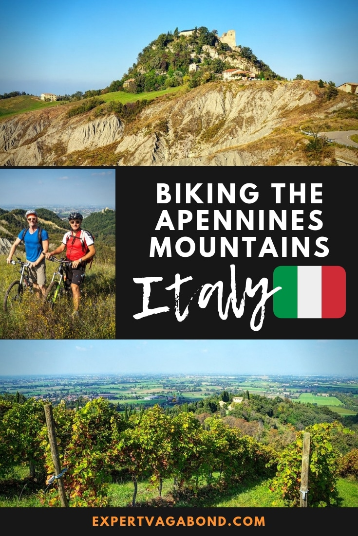 Biking Italy's Apennines Mountains In Emilia Romagna! More at ExpertVagabond.com