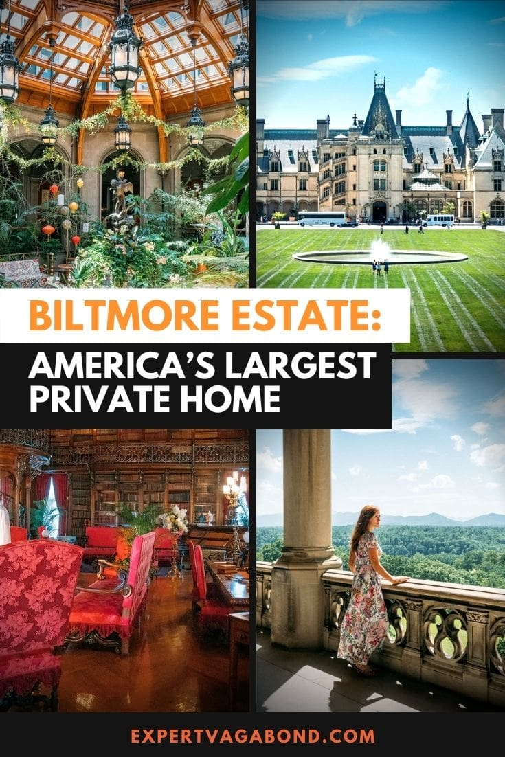 The Biltmore Estate: Visiting America's Largest Private Home! Click here to find out more #America #USA #UnitedStates #Travel