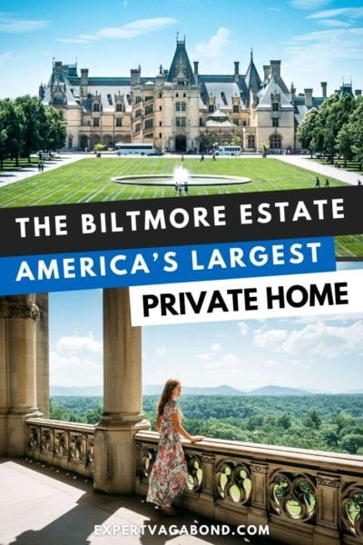 The Biltmore estate: Visiting Americas largest private home. Discover what to do at the estate. #Asheville #Biltmoreestate #Northcarolina