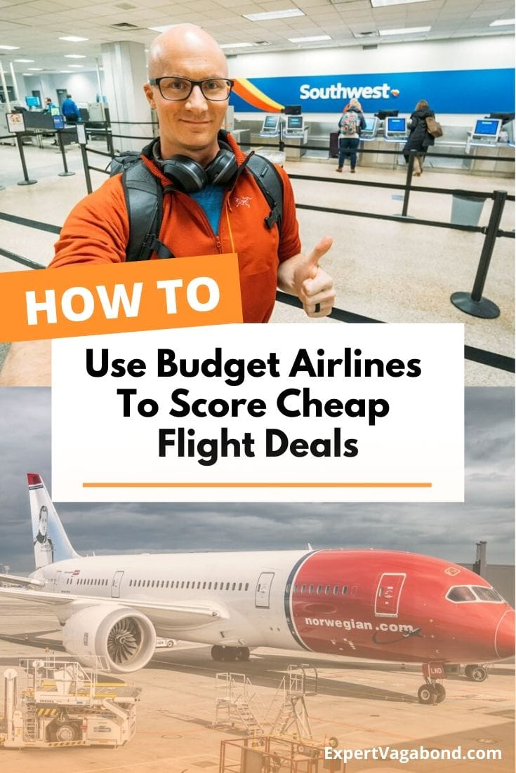 Everyone wants to save money when they travel, and flying can be expensive. Here's how I use budget airlines & low-cost carriers to score cheap flights around the world! #Cheap #Budget #Travel