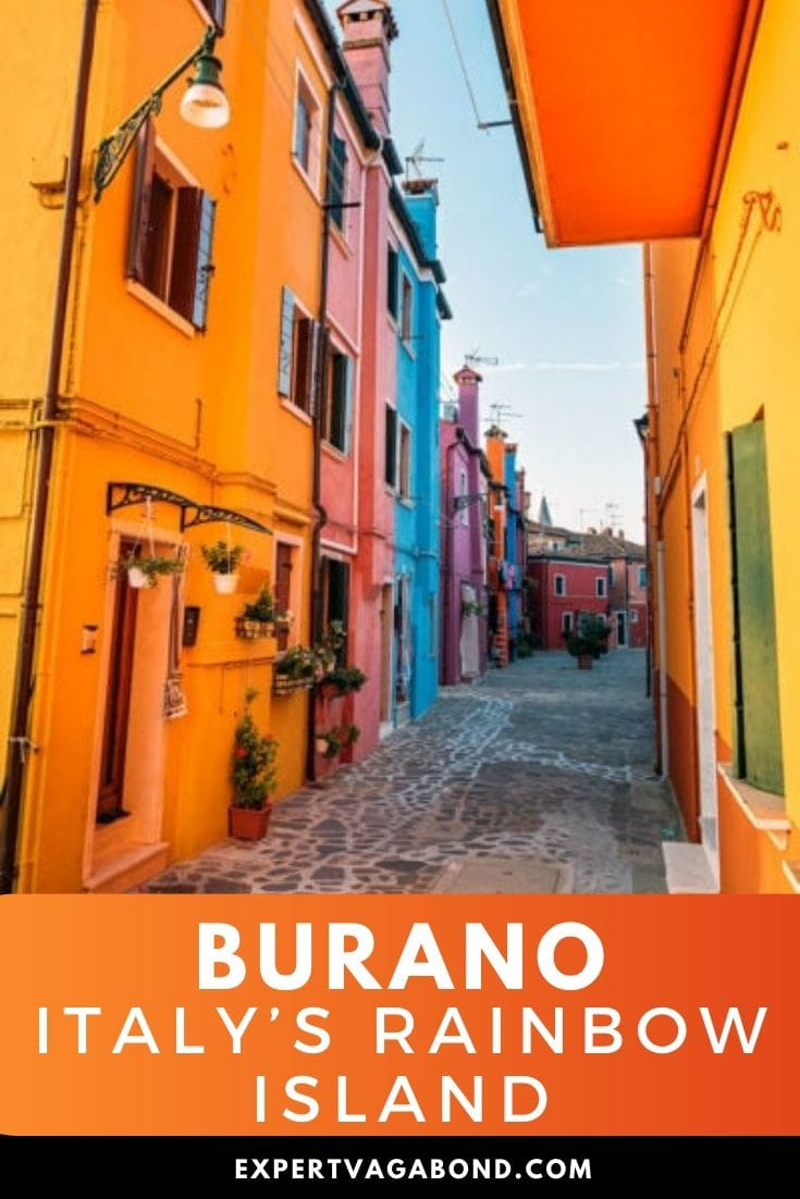 Getting Lost On Burano: Italy's Rainbow Island. Click here to find out more #Burano #Italy #Europe #Travel