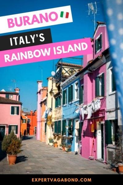 Getting Lost On Burano: Italy's Rainbow Island #Italy #Burano