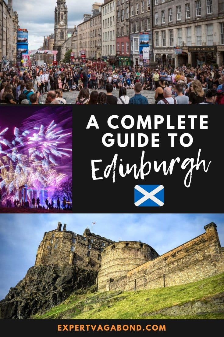 Great Things To Do In Edinburgh -- tips and ideas for your trip to Scotland! More at ExpertVagabond.com