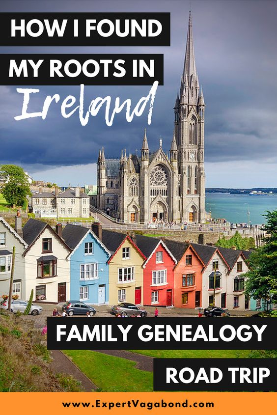 Finding My Roots In Ireland: Family Genealogy Road Trip. More at ExpertVagabond.com