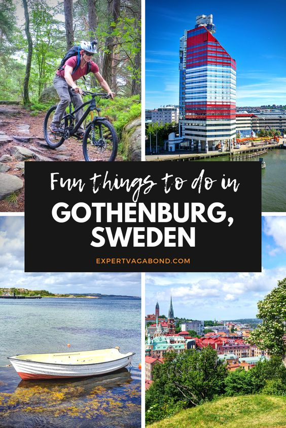 The city of Gothenburg (Göteborg) is my kind of place. Urban creativity with nature nearby. Here are some fun things to do in Sweden's 2nd biggest city. More at ExpertVagabond.com