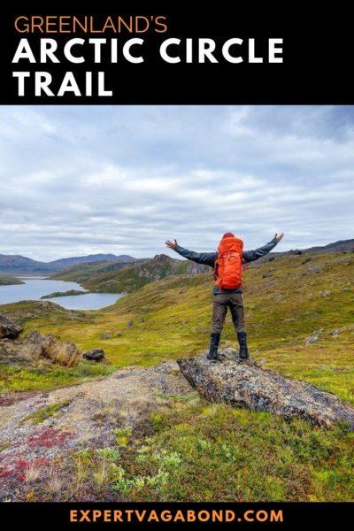 Hiking Greenlands Arctic Circle