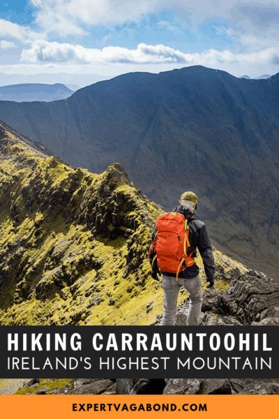 Hiking Carrauntoohil: Ireland's Highest Mountain #Peak #Summit #Ireland