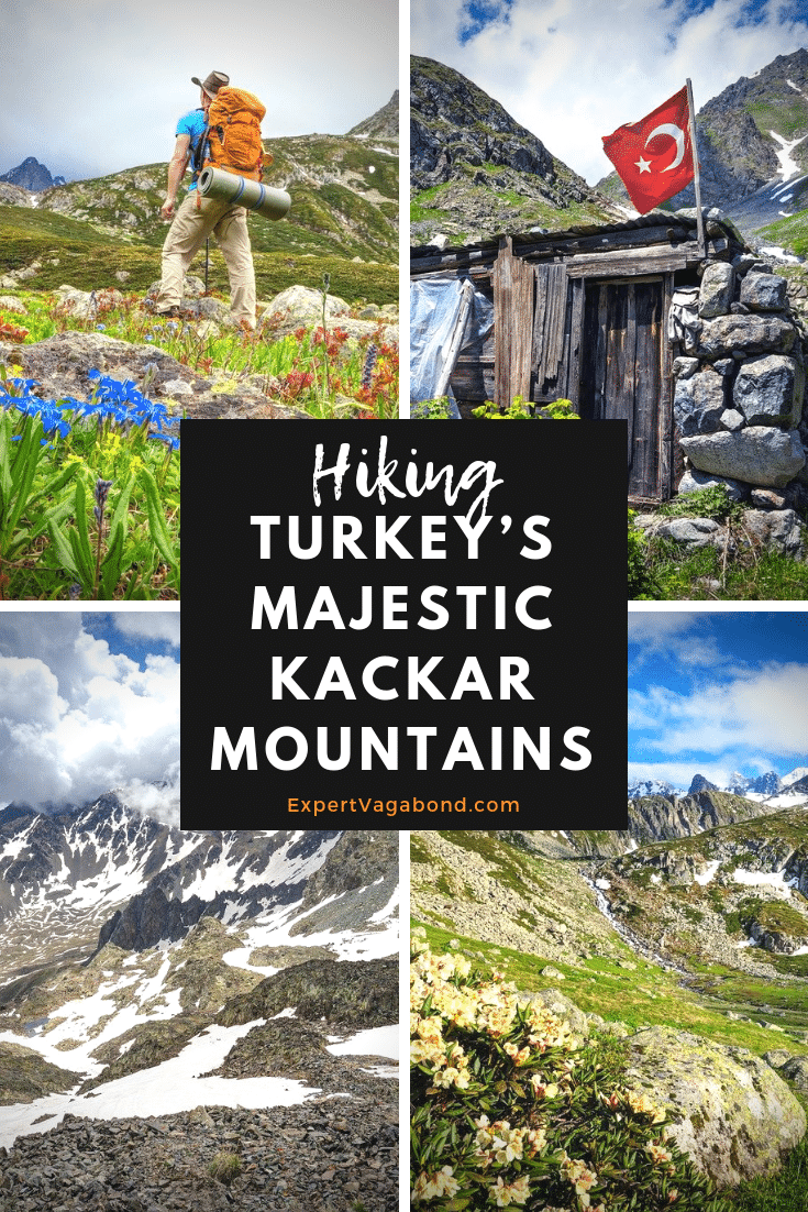 Wildflowers & Ice: Hiking Turkey's Majestic Kackar Mountains! More at ExpertVagabond.com
