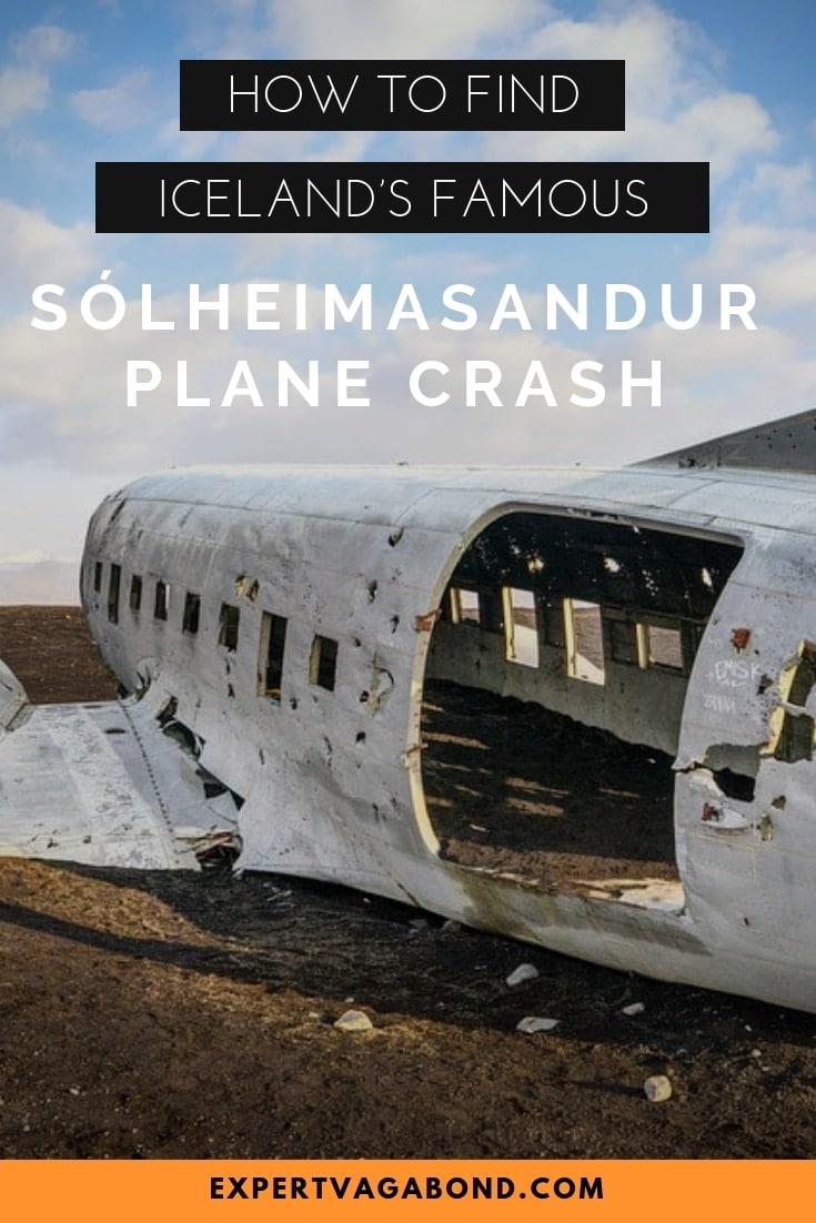 How To Find Iceland's Famous Sólheimasandur Plane Crash! More at ExpertVagabond.com