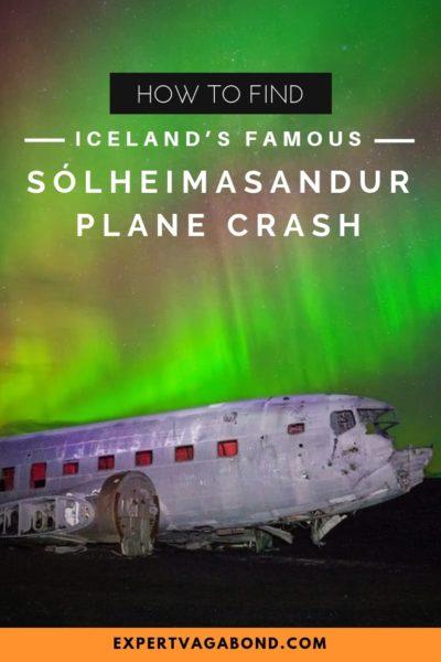 How To Find Iceland's Famous Sólheimasandur Plane Crash #Iceland #Photography #Planecrash