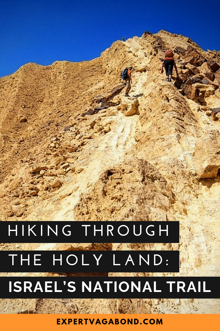 Hiking Through The Holy Land: Israel's National Trail! More at ExpertVagabond.com
