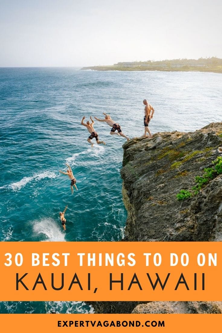30 Best Things To Do On Kauai: Hawaii's Garden Island! Click here to find out more #Hawaii #Kauai #Travel