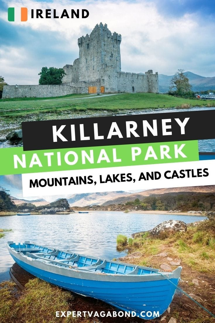 Killarney National Park, Ireland: Exploring Mountains, Lakes, and Castles! Click here to find out more #Killarney #NationalPark #Ireland #Europe #Adventure #Travel