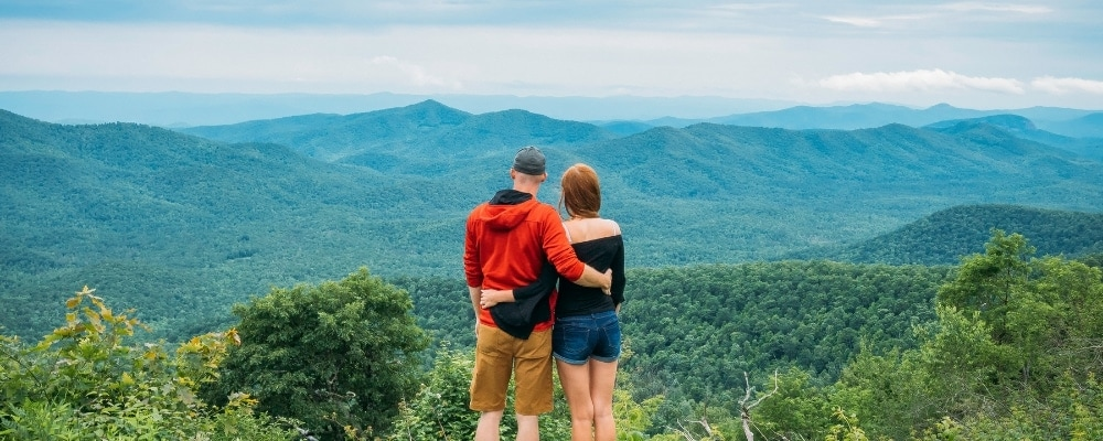 Hiking North Carolina, North America