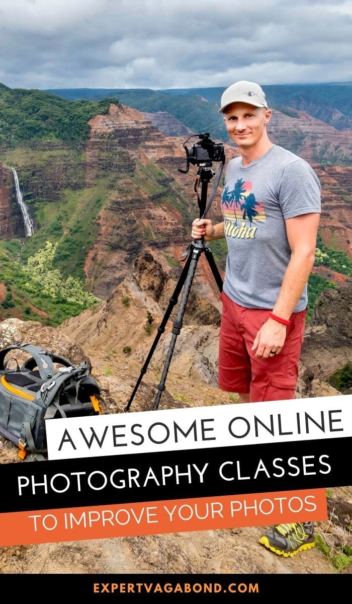 Awesome Online Photography Classes To Improve Your Photos! More at ExpertVagabond.com