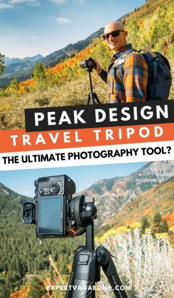 Peak Design Travel Tripod Review #Peakdesign #Tripodreview #Traveltripod