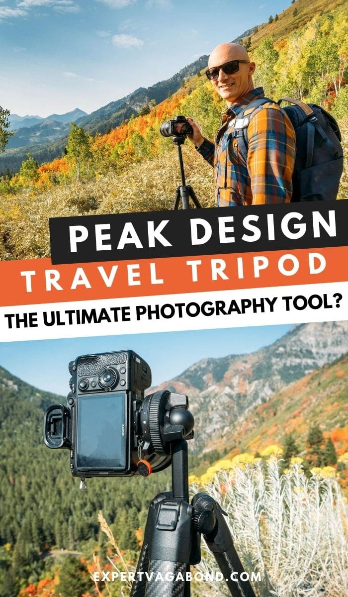 Peak Design Travel Tripod: The Ultimate Photography Tool? Click here to find out more #Travel #Tripod #Photography #Tips