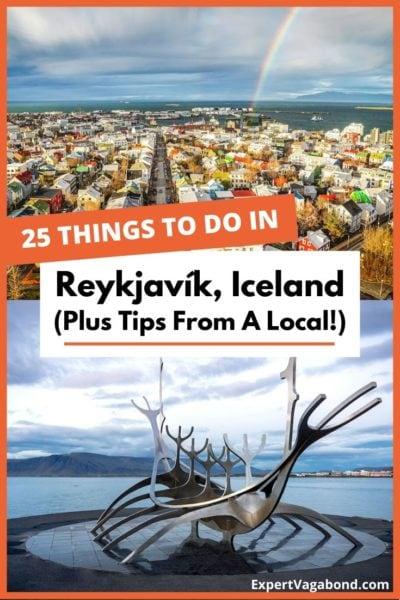 25 Fun things to do in Reykjavik, Iceland