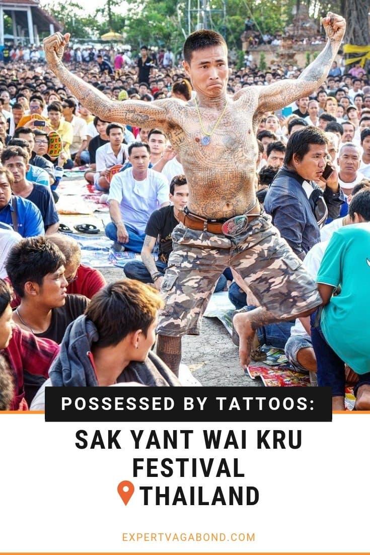 Possessed By Tattoos: Sak Yant Wai Kru Festival! More at expertvagabond.com