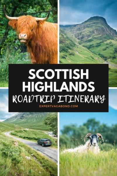 Driving The Scottish Highlands #Mountains #Lochs #Glens