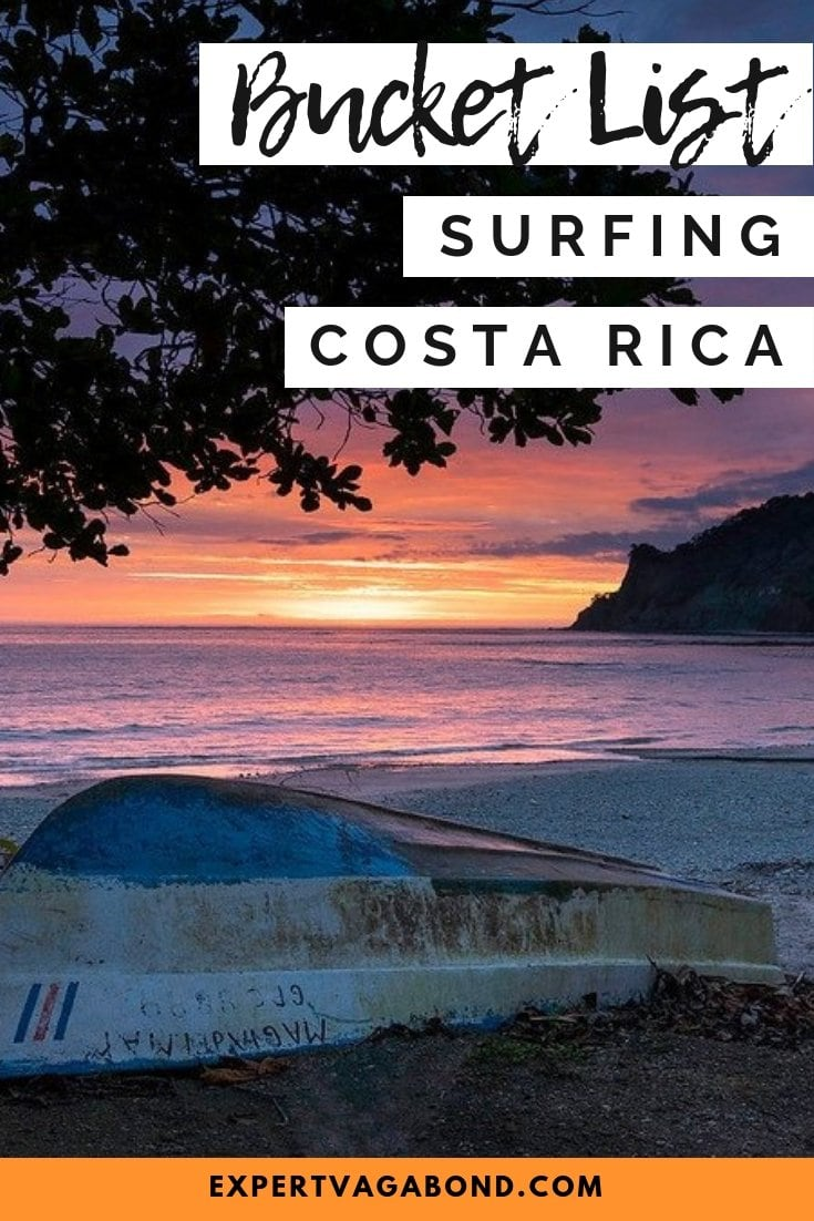 Surfing road trip in Costa Rica. More at expertvagabond.com