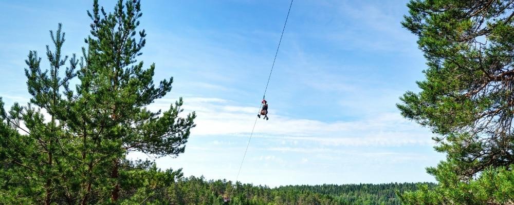 Zip Lining Sweden