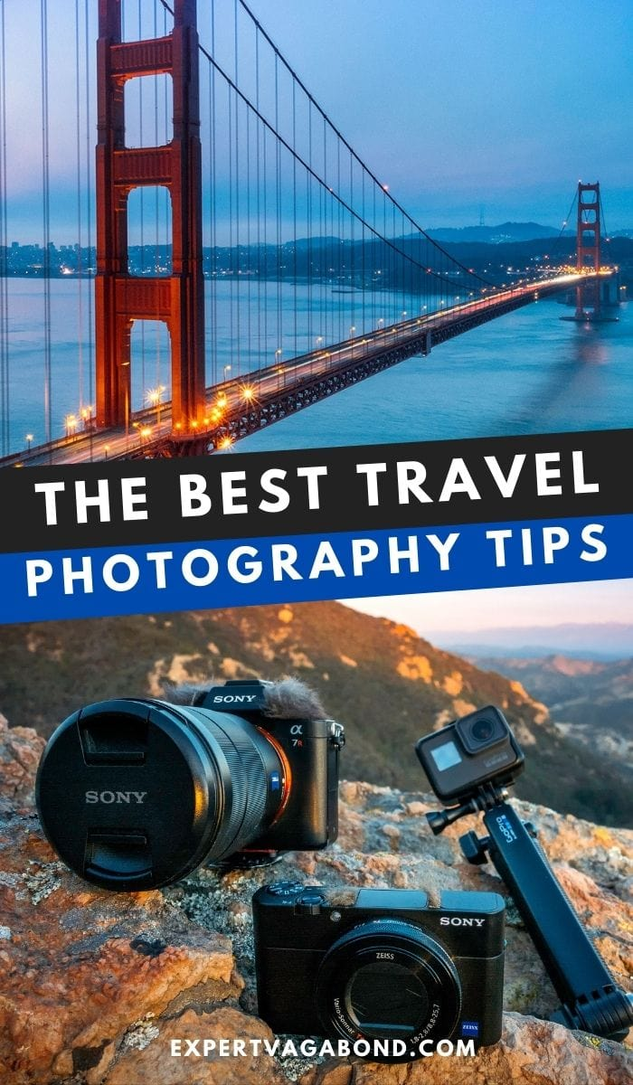 Travel Photography Tips to improve your photos. Secrets from the pros! #Travel #Photography #Tips
