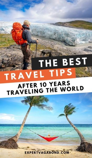 My 50 best travel tips to help you have an amazing trip! #travel #traveltips #worldtravel