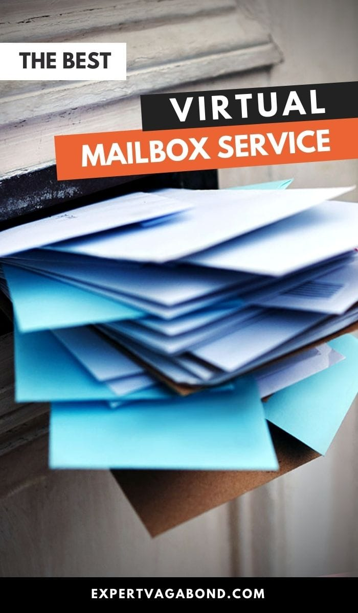 Best Virtual Mailbox Service For Travelers & Online Businesses! Click here to find out more #DigitalNomad #WorkOnline #RemoteWork #Travel #VirtualMailbox