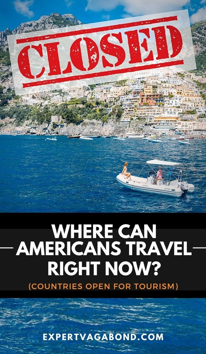 Where Can Americans Travel Right Now? Countries Open For Tourism! Click here to find out more #Travel #Lockdown #Covid19 #Quarantine