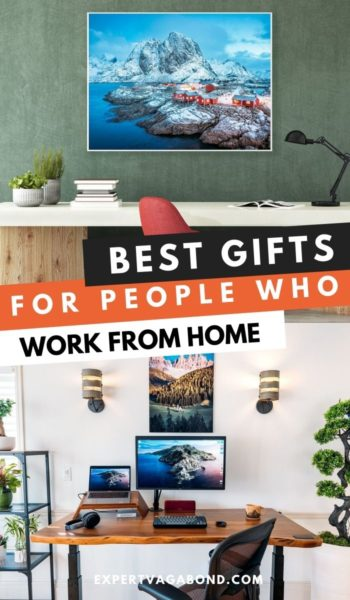 Best gifts for people who work for home. #Remote #Work #Desk