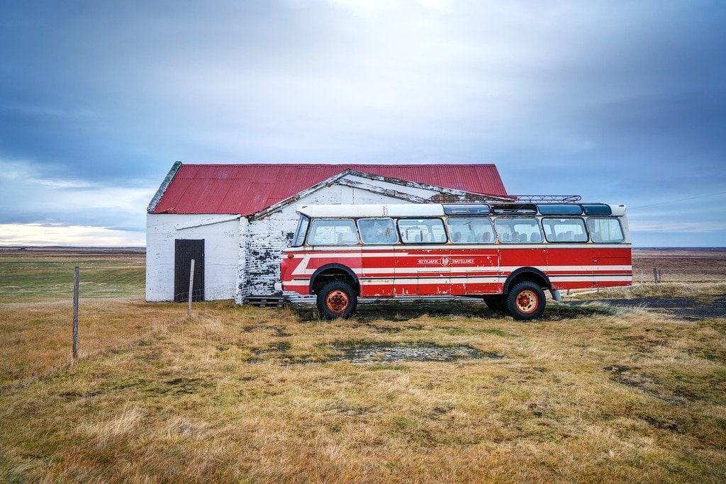 Abandoned Bus Iceland