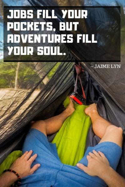Adventure travel quote image