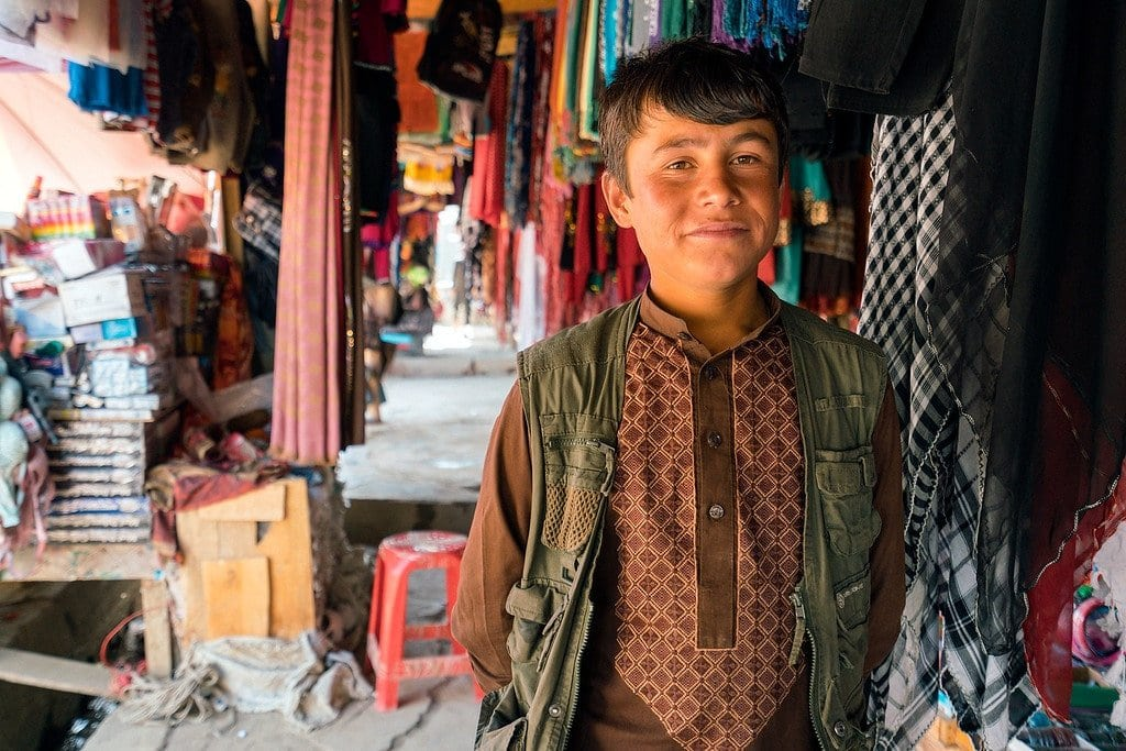 Local Kid in Afghanistan