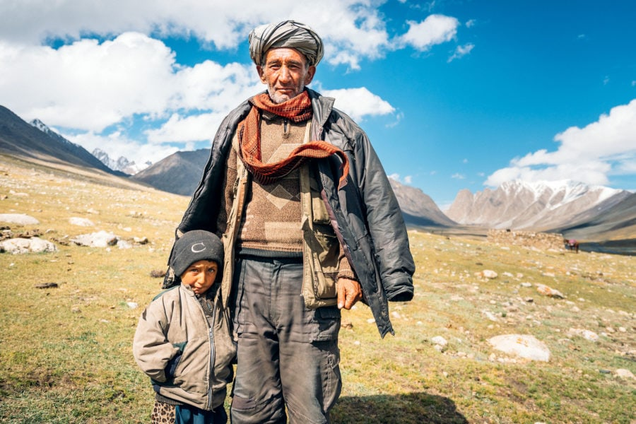 Travel Photography of Locals