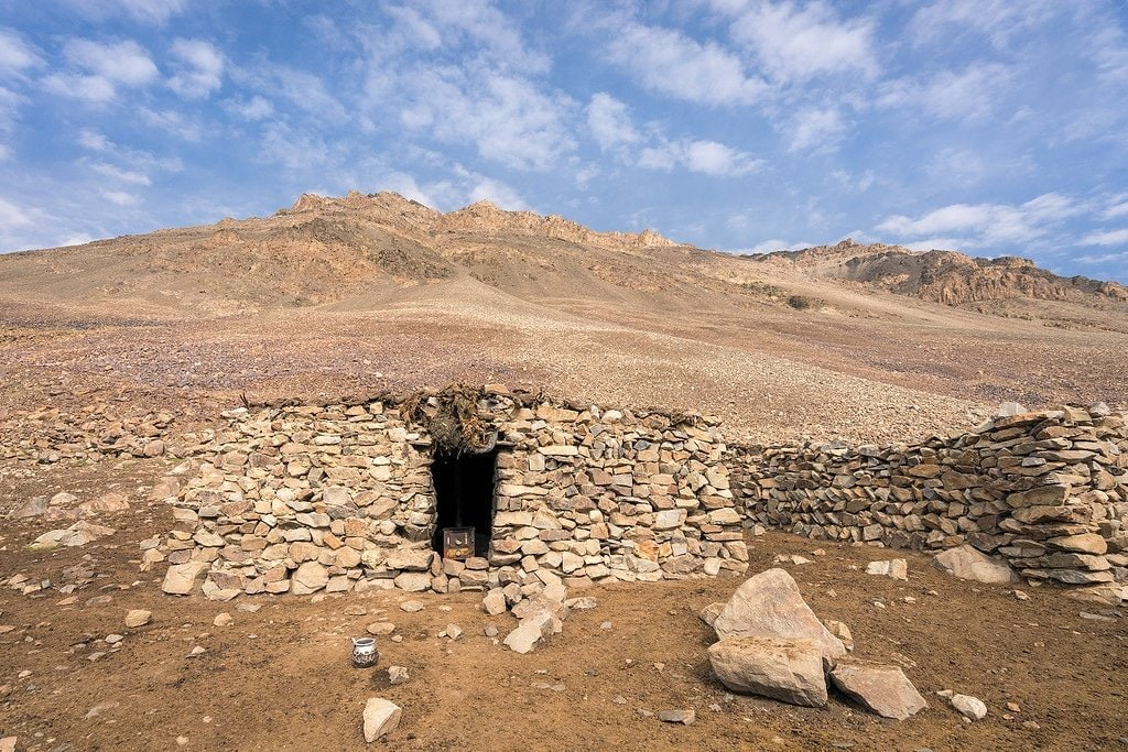 Afghanistan Stone Hut