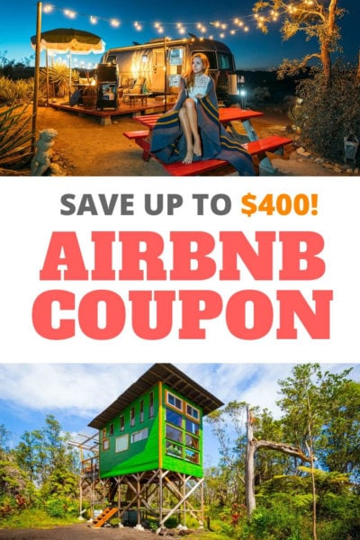 Airbnb coupon code discount! Learn how to save up to $400 off your next vacation apartment rental.