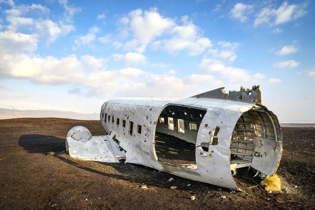 Airplane Crash Iceland