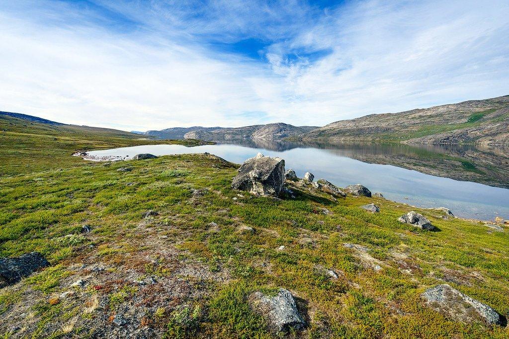 Amitsorsuaq Lake Greenland