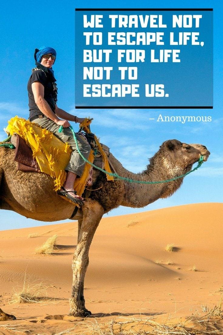 Fun Anonymous Travel Quotes