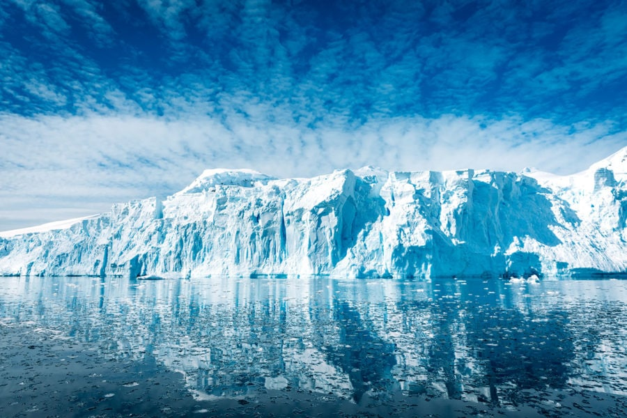 Glacier Picture in Antarctica