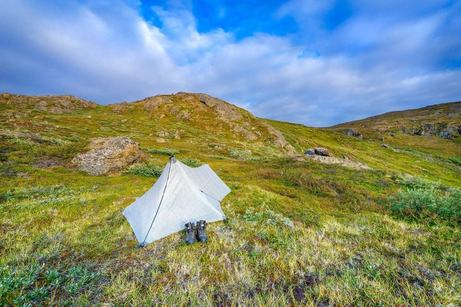 Camping in the Arctic