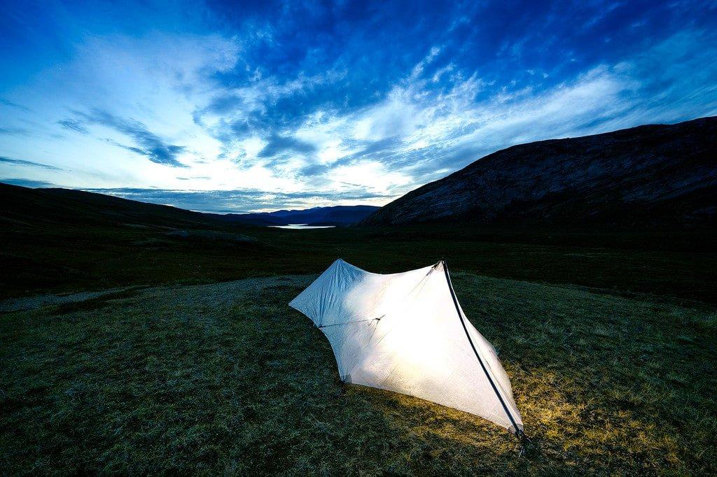 Camping Arctic Circle Trail