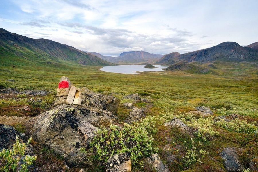 Arctic Circle Trail Cairn