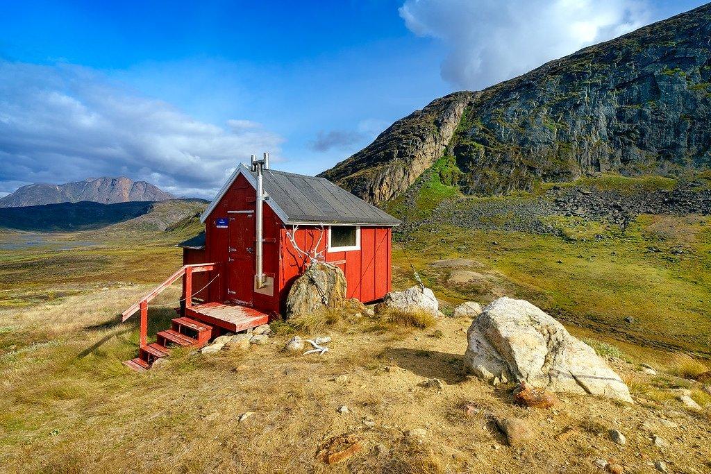 Arctic Circle Trail Cabin