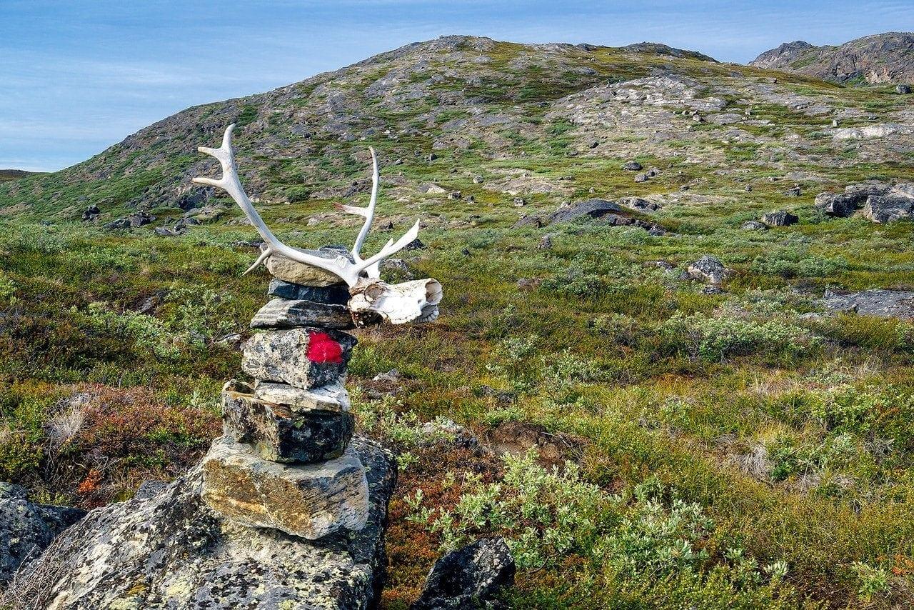Arctic circle trail cairn x2