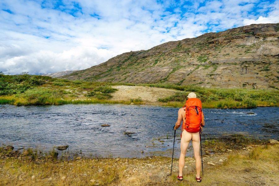Arctic Circle Trail River Crossing