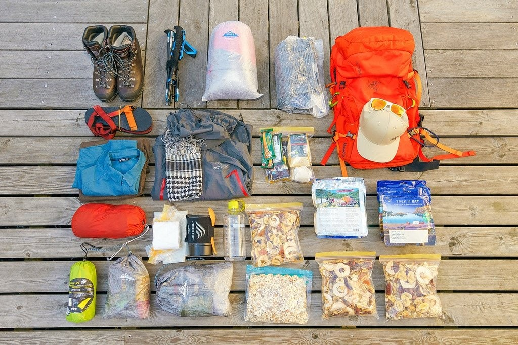 Packing for Arctic Circle Trail